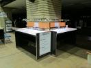 山形市役所様 記載台有機EL証明スタンド2